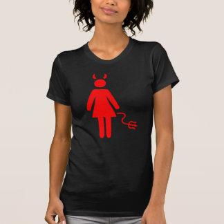 T-shirt Diable de femme de bâton