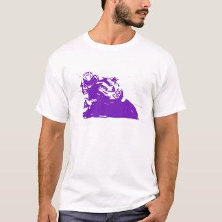 T-shirt Diable de moto