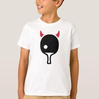 T-shirt Diable de ping-pong de ping-pong