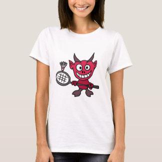 T-shirt Diable DE X/Y jouant la bande dessinée de