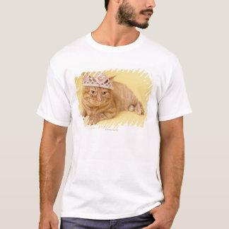 T-shirt Diadème de port de chat