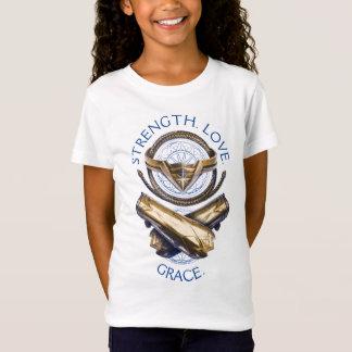 T-Shirt Diadème, lasso, et bracelets de femme de merveille