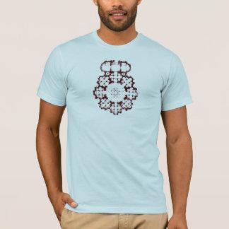 T-shirt diagramme de bâtiment