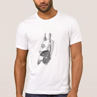 T-shirt diagramme de machine principale étrange
