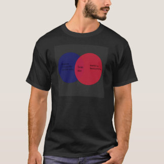 T-shirt diagramme de venn de youtube