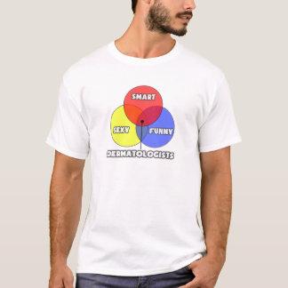 T-shirt Diagramme de Venn. Dermatologues