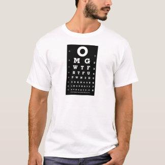 T-shirt Diagramme d'oeil de Gamer d'élite