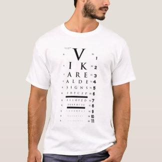 T-shirt Diagramme d'oeil de Vikareal