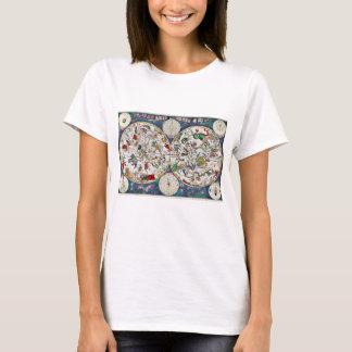T-shirt Diagramme en étoile