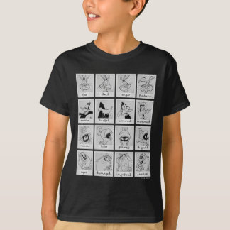 T-shirt Diagramme LOONEY d'émotion de caractère de TUNES™