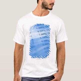 T-shirt Diagrammes d'opérations bancaires