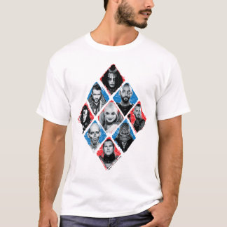 T-shirt Diamant Checkered du groupe de travail X du