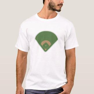 T-shirt Diamant de base-ball :