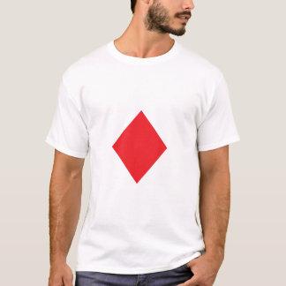 T-shirt Diamant rouge