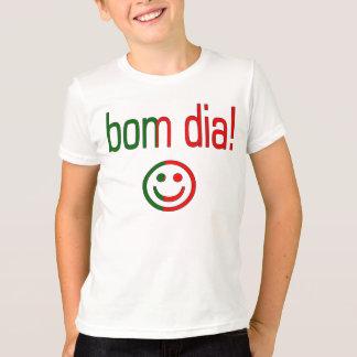 T-shirt Diamètre de Bom ! Couleurs de drapeau du Portugal