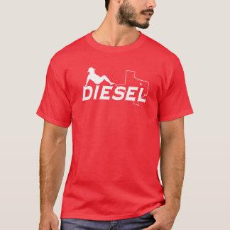 T-shirt diesel d'homme de bavette du base-ball de