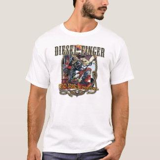 T-shirt Diesel_Finger-white
