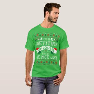 T-shirt Diététicien sur le tee - shirt laid de chandail