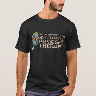 T-shirt Dieu a créé la physiothérapie