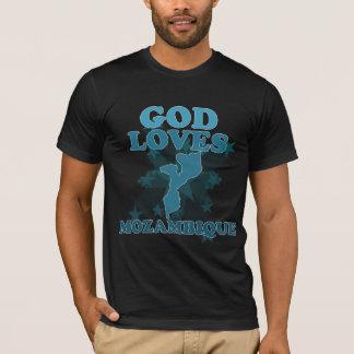 T-shirt Dieu aime la Mozambique