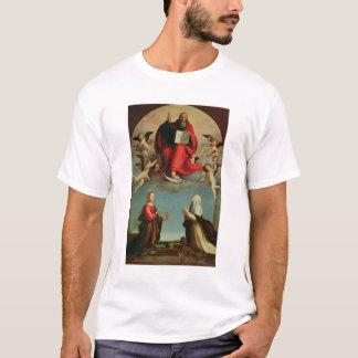 T-shirt Dieu apparaissant à St Mary Magdalen et St Catheri
