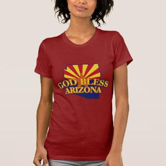 T-shirt Dieu bénissent l'Arizona