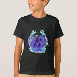 T-shirt Dieu de Poseidon de la mer 1