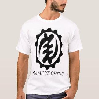 T-shirt Dieu isKINg.ai, NYAME YE OHENE