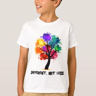 T-shirt Différent, pas moins
