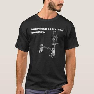 """T-shirt """"Différents outils, hein ? Pièce en t la"""" du"""