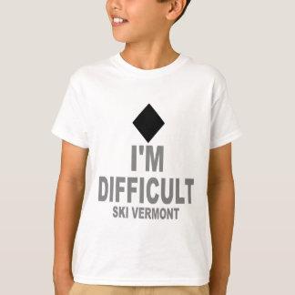 T-shirt Difficult_Ski_VERMONT
