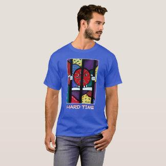 T-shirt Difficulté - bleu - morceaux de temps