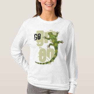 T-shirt d'iguane de devenez écolo
