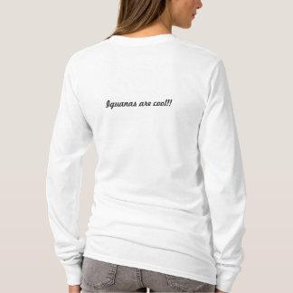 T-shirt d'iguane de dragon de fleur