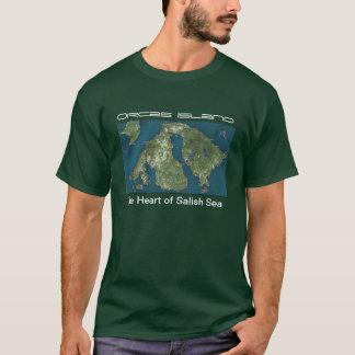 T-shirt d'île d'orques