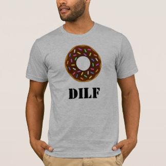 T-shirt DILF : Le beignet Je voudrais…