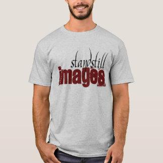 T-shirt d'images d'arrêt - gris