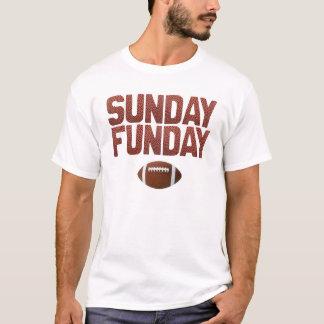 T-shirt Dimanche Funday - édition du football