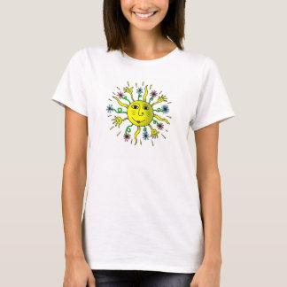 T-shirt Dimanche matin Sun