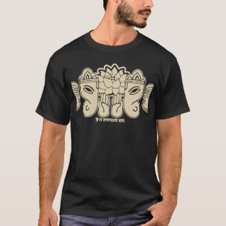 T-shirt d'incantation de Ganesh