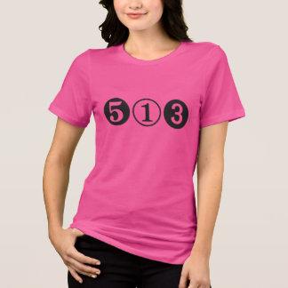 T-shirt d'indicatif régional de Cincinnati 513
