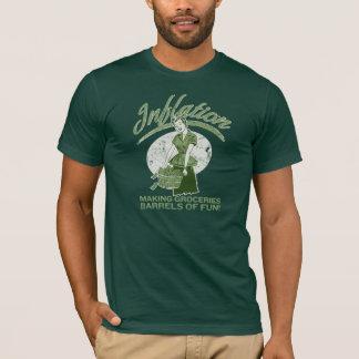 T-shirt d'inflation