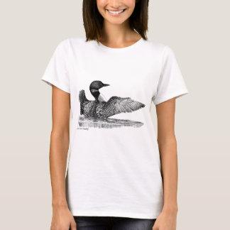 T-shirt Dingue peint