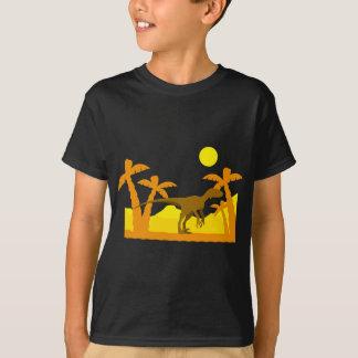 T-shirt Dino dans le désert