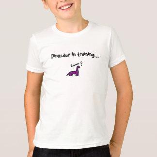 T-shirt Dinosaure dans la formation