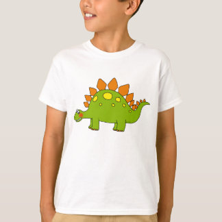 T-shirt Dinosaure mignon - stegosaurus