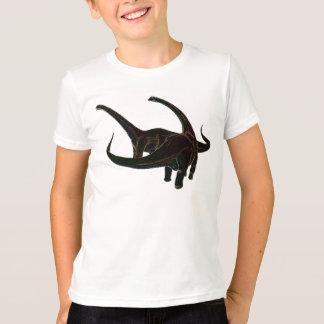 T-shirt Dinosaures au néon