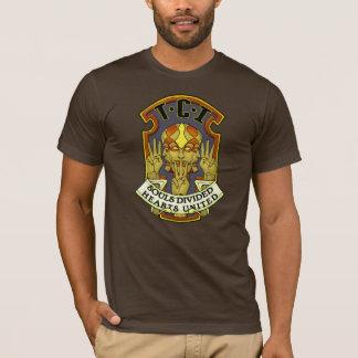 T-shirt d'insigne d'invasion de Tri Clone