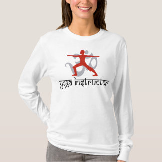 T-shirt d'instructeur de yoga