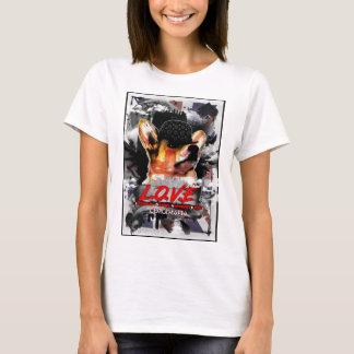 T-shirt d'International d'AMOUR de Britannique de